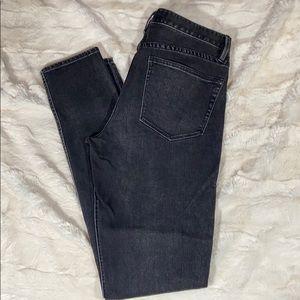 Madewell Rail Straight Black Jean Size 28